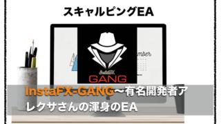 InstaFX-GANG〜FX自動売買EAの評判とロットの設定方法