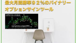 最大月間勝率が92%!バイナリーオプション矢印サインツール〜評判と口コミ