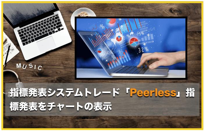 指標発表システムトレード「Peerless」〜経済指標をチャートに表示するインジケーター