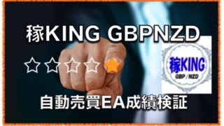 稼KING GBPNZD 〜収益率がかなり高いナンピンFX自動売買EAの評判と成績検証