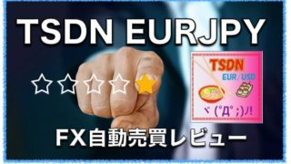 TSDN EUR/JPY〜FX自動売買EAの評判と成績を検証